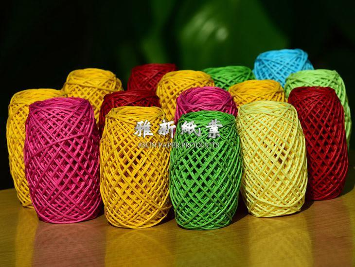 Environmental protection paper rope